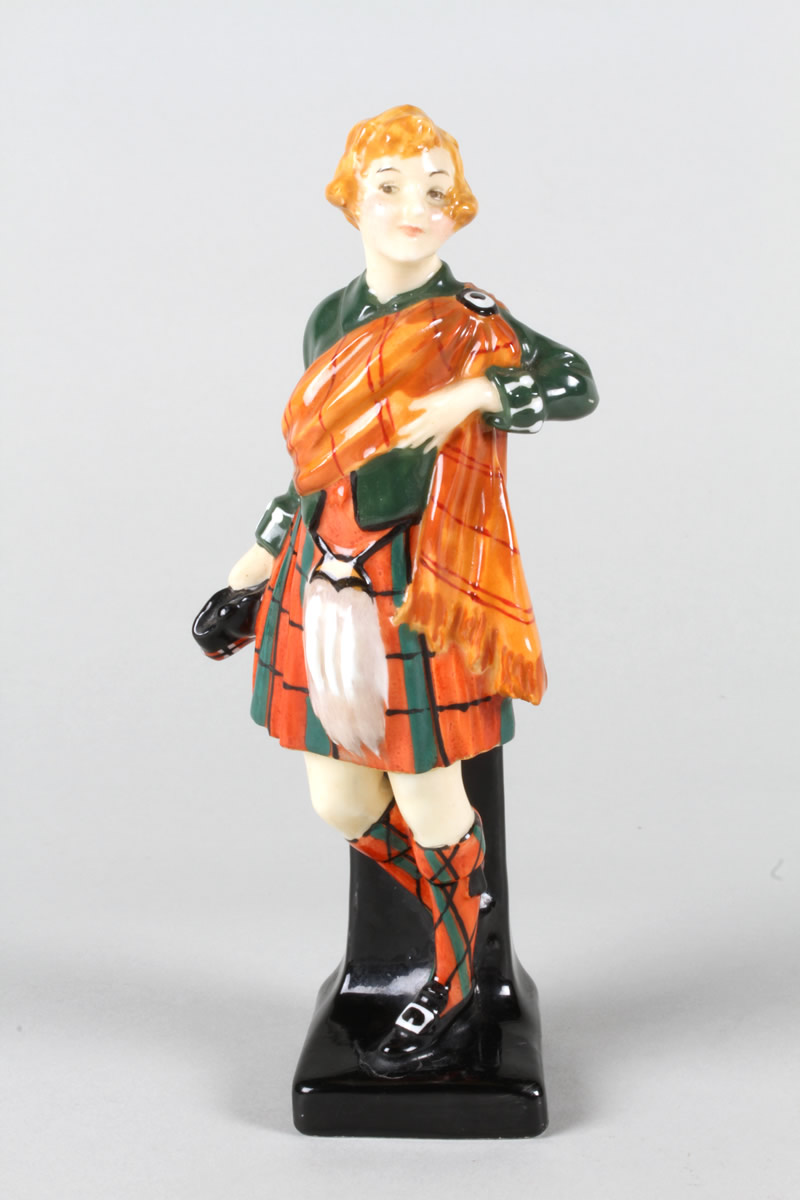 Royal Doulton lady figure 'Scotch Girl', Sold £950.jpg
