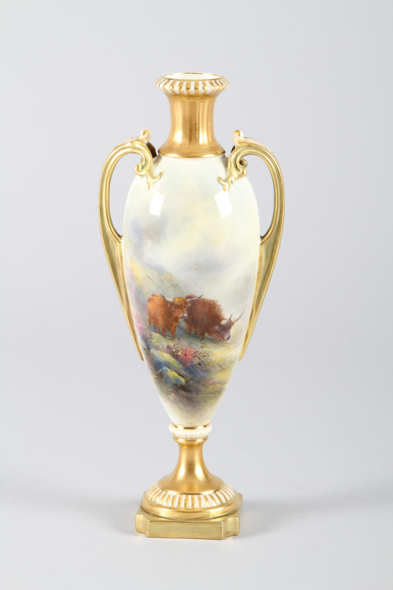 Royal Worcester Vase, Sold £740.jpg