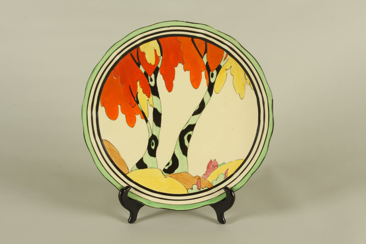 Clarice Cliff Charger