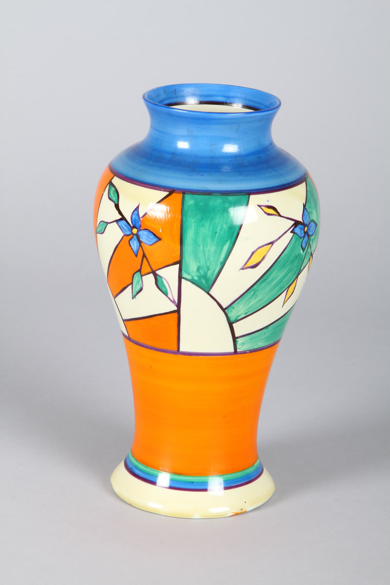 Clarice Cliff Fantasque Vase