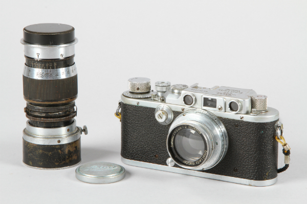 Leica DRP Ernst Leitz Wetzlar Camera, sold for £300