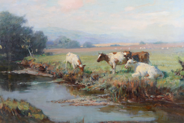 'June Morning' by William Pratt, sold for £620