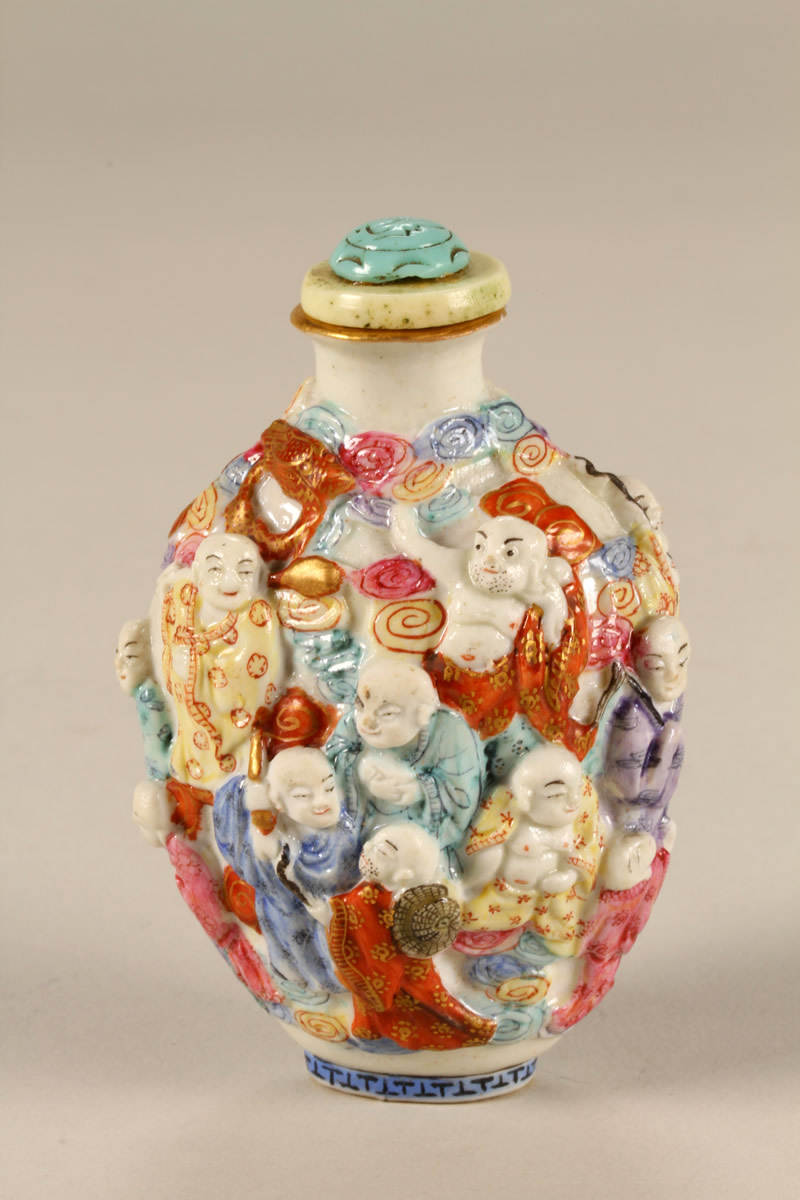 Damaged Chinese porcelain snuff bottle Sold £300.jpg
