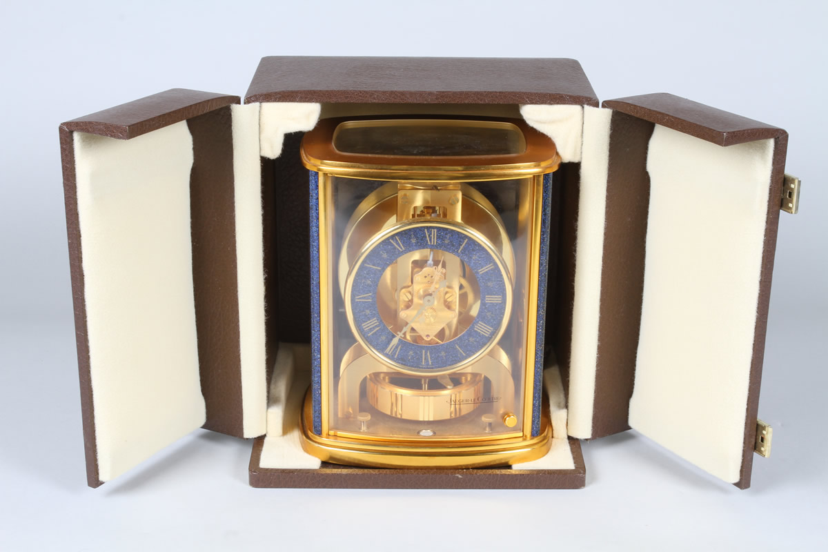 Jaeger-Le Coultre Atmos clock, Sold £1600.jpg