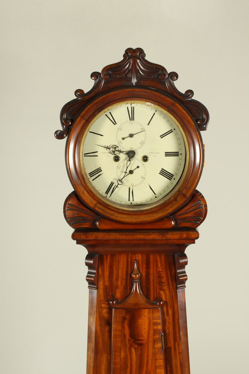 Scottish Long Cased Clock, Sold £1350.jpg