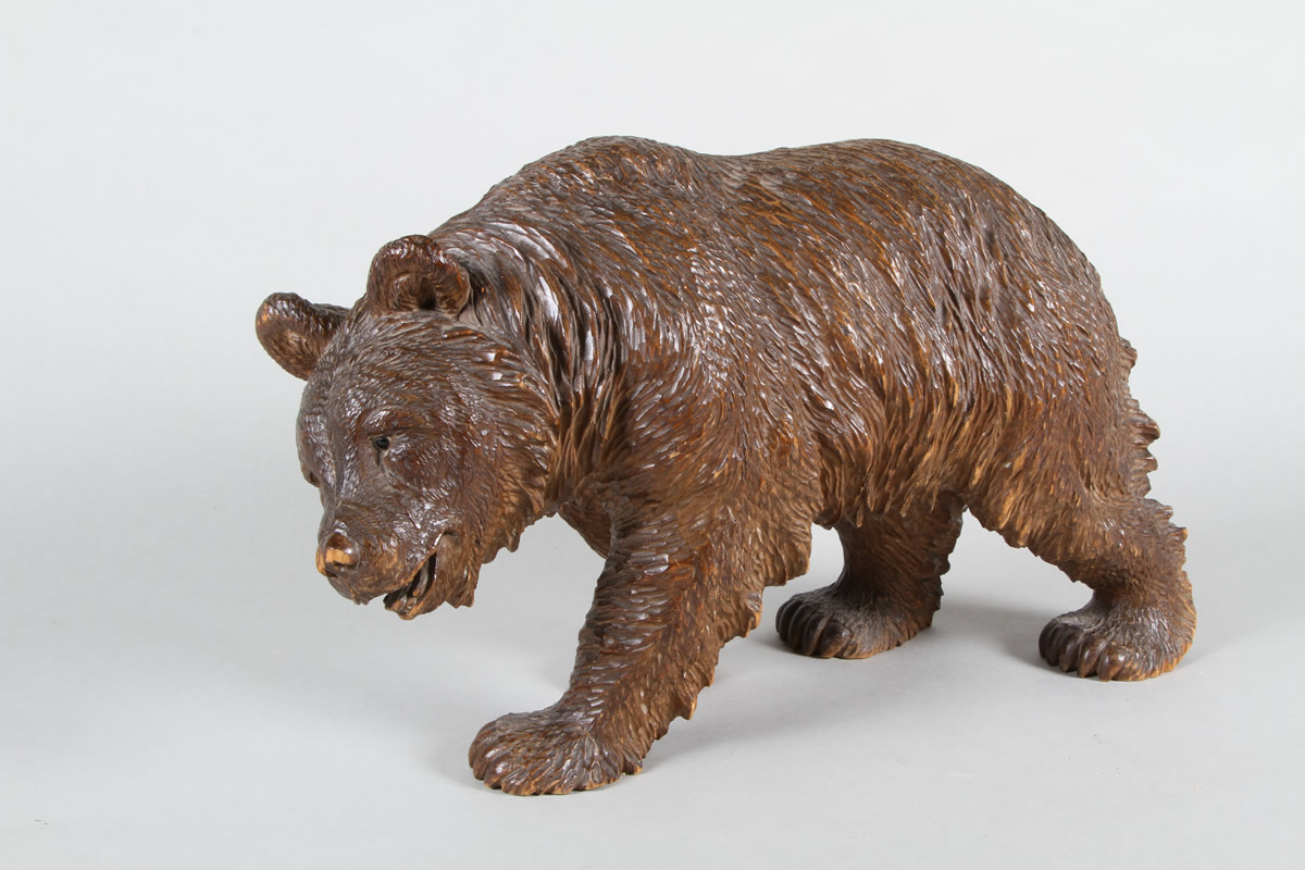 Black forest carved bear, Sold £1,700.jpg