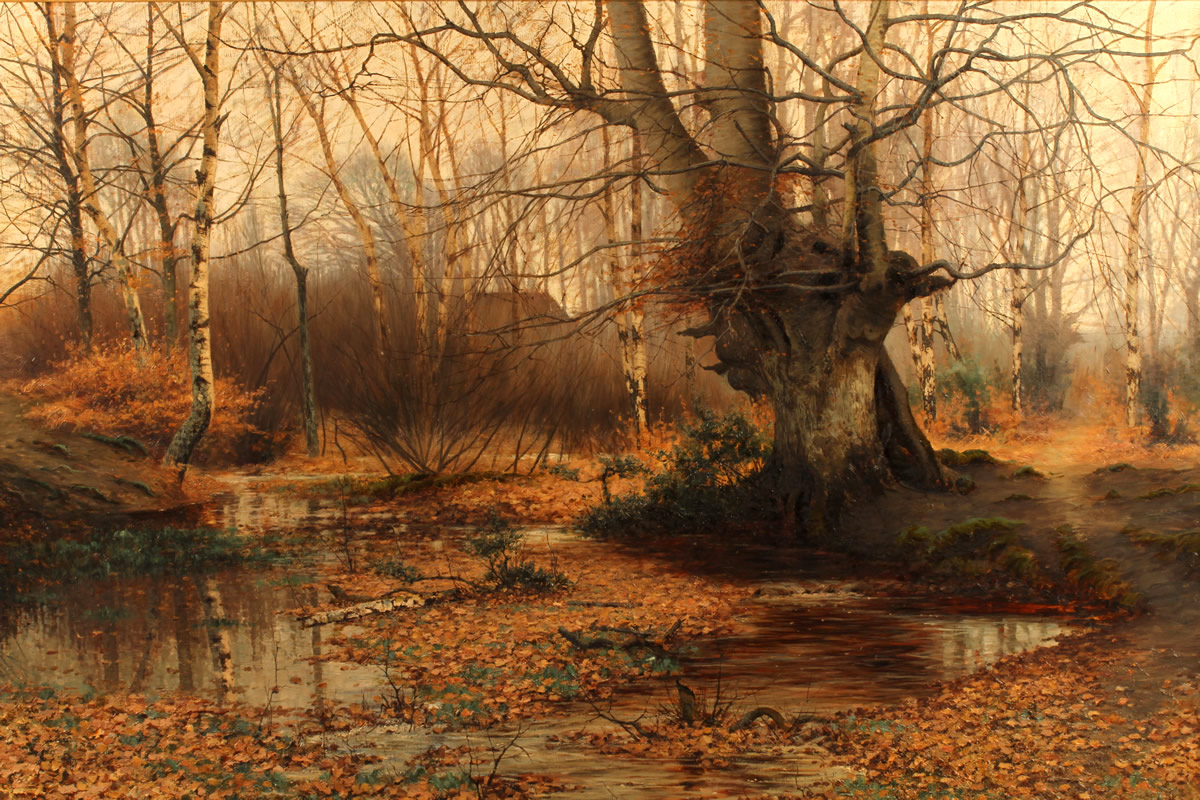 Sidney Pike,(fl1880-1901)Oil on Canvas Sold £3800.jpg
