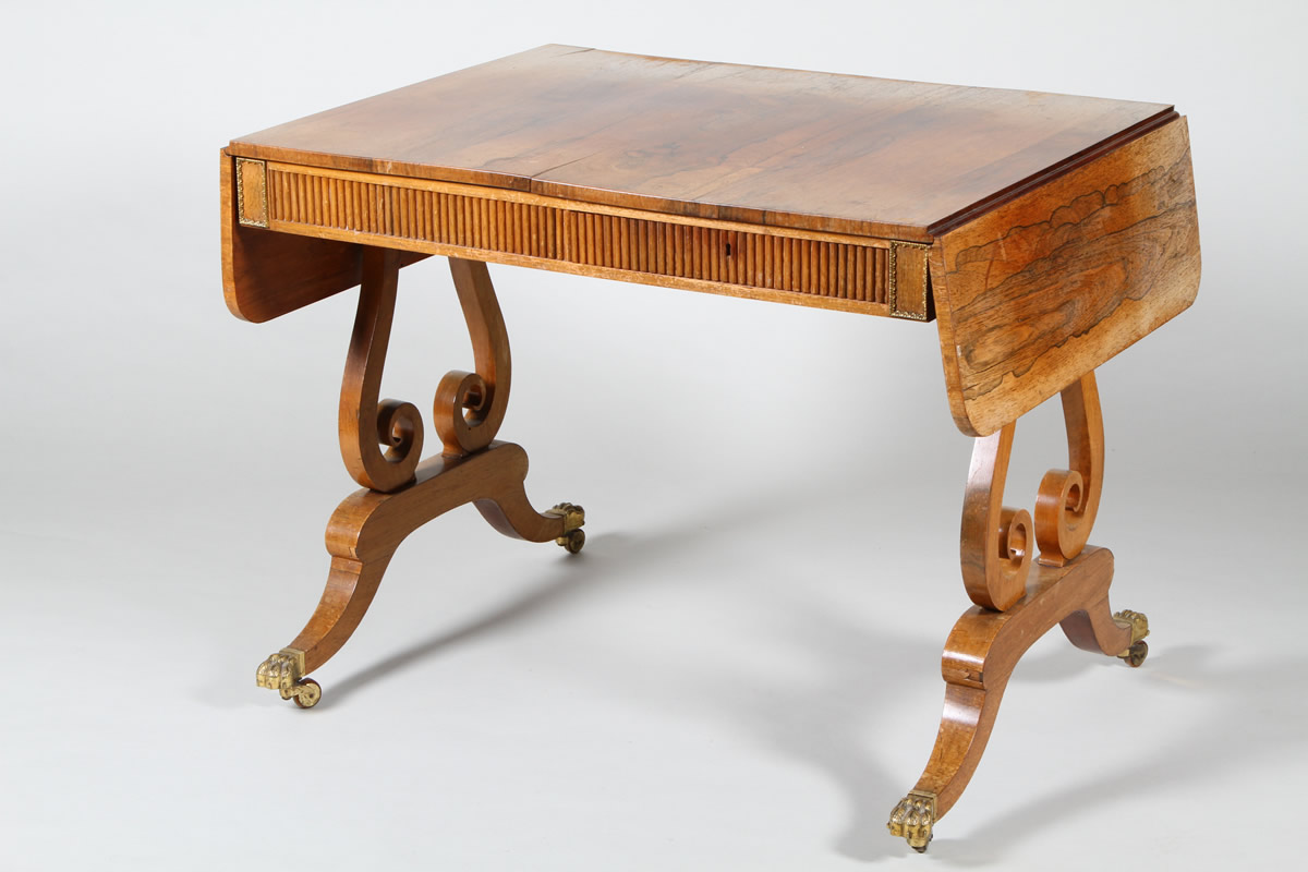 Scottish Regency rosewood sofa table, Sold £2,000.jpg