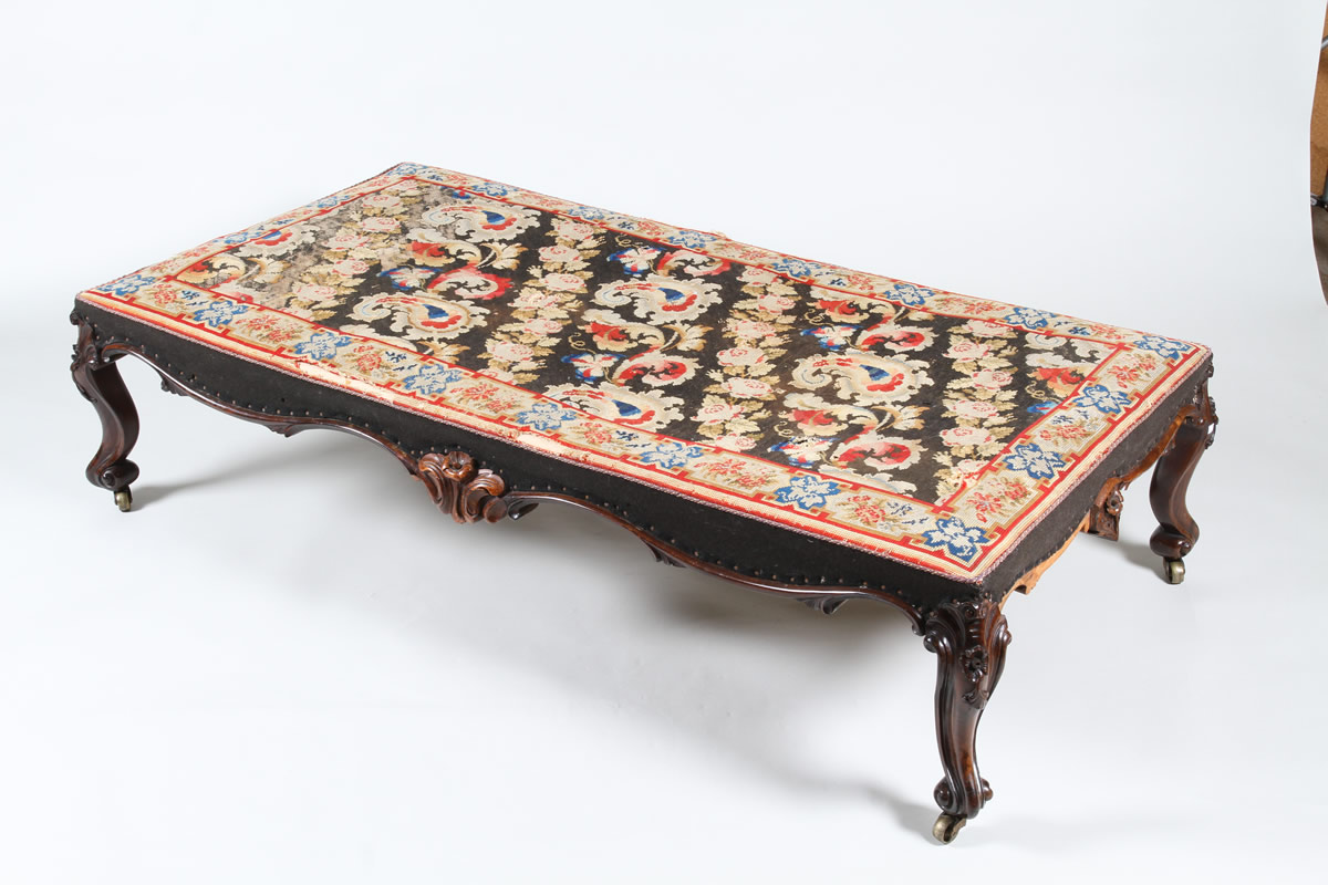 Victorian rosewood centre stool, Sold £3300.jpg