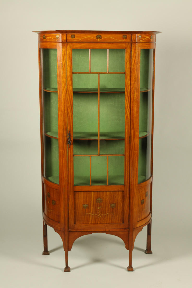 Arts and Crafts display cabinet Sold £1450.jpg