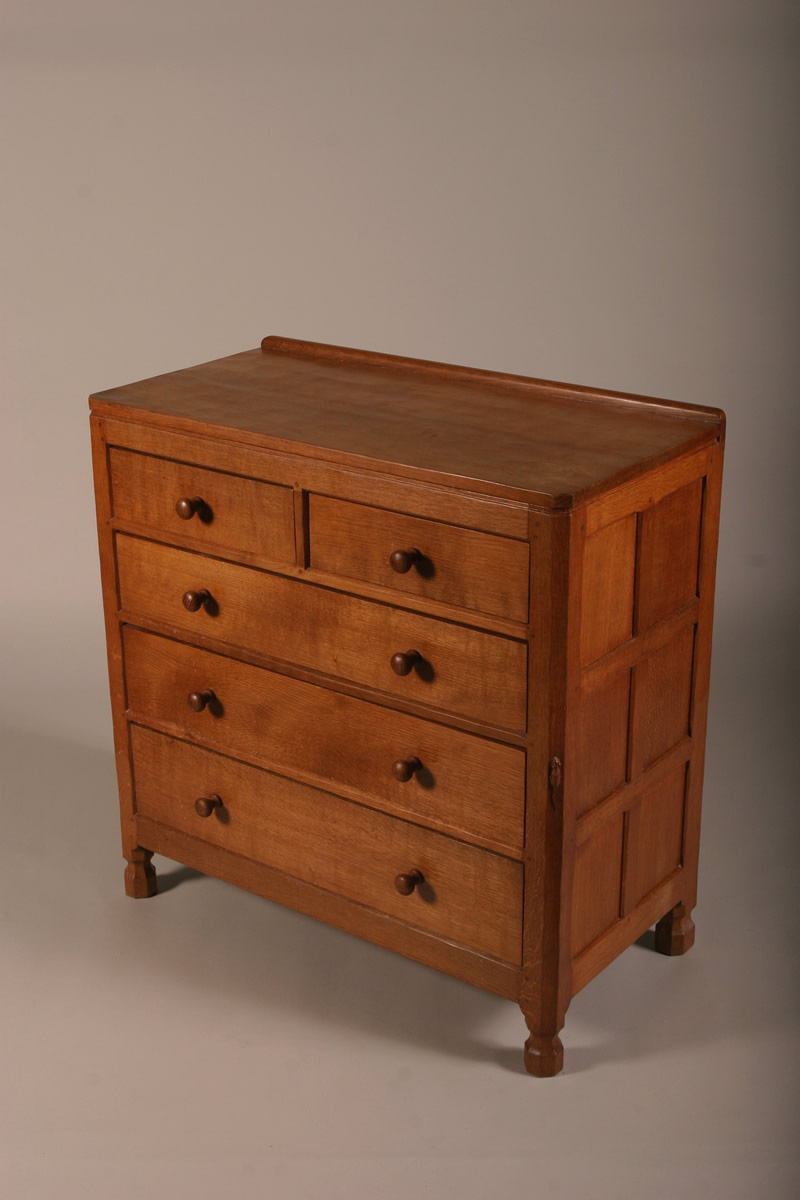 Oak chest by Mouseman Thomson, Sold £3100.jpg