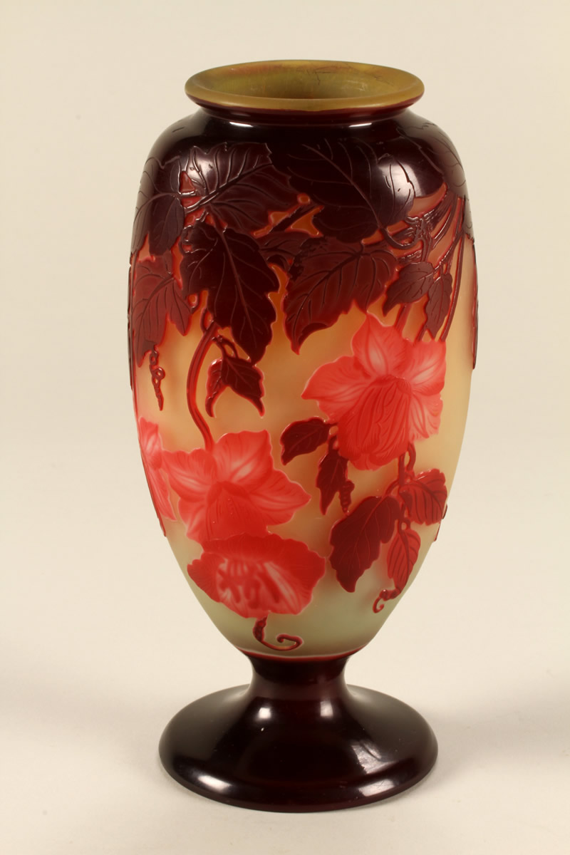 Emile Galle Cameo glass vase, Sold £2050.jpg