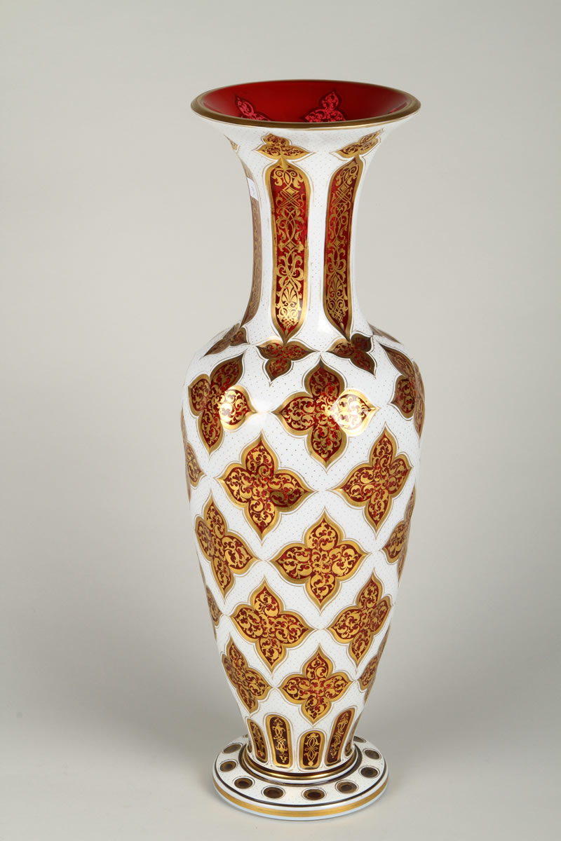 19th Century Bohemian glass vase, Sold £1200.jpg