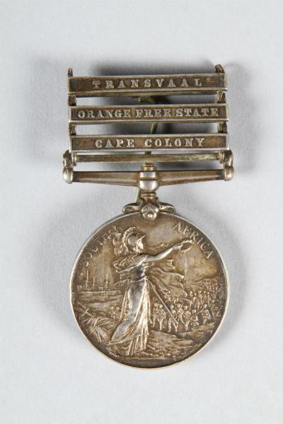 Queens South Africa Medal, sold for £100