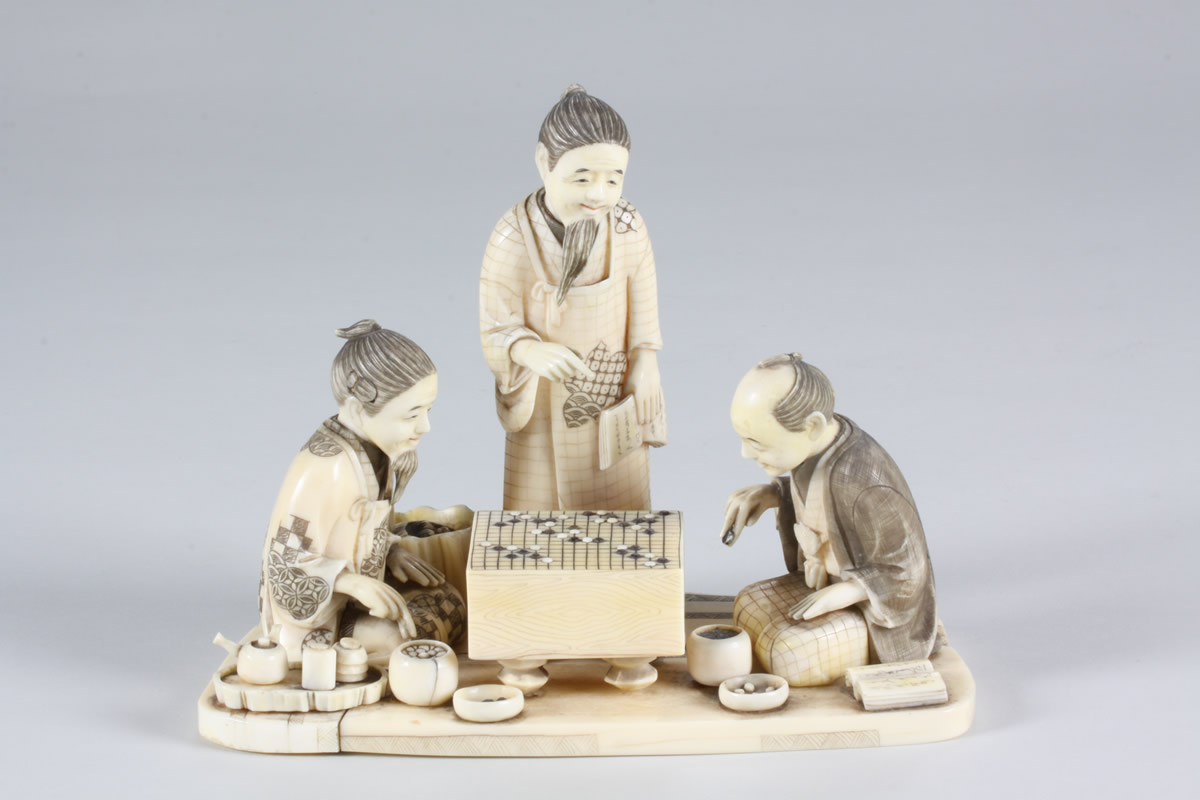 Japanese Ivory Group, Sold £850.jpg