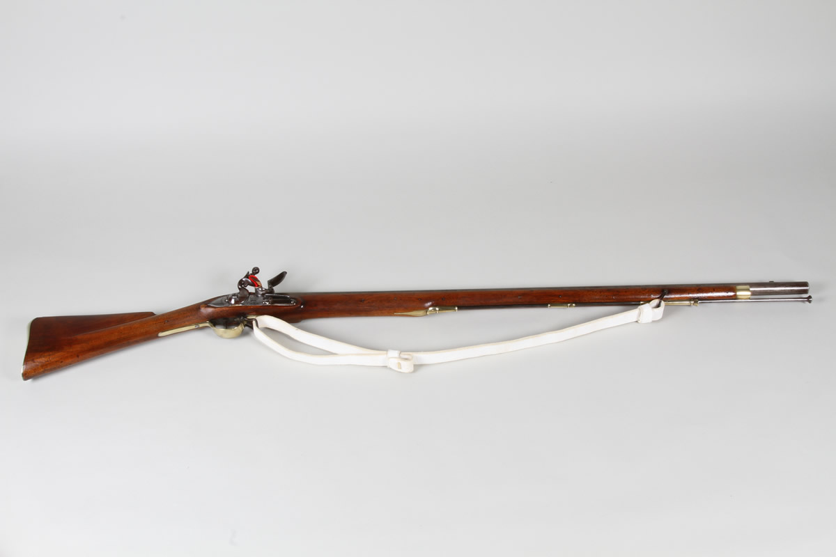 10 bore Volunteer Brown Bess fintlock musket by Robert Wheeler.jpg