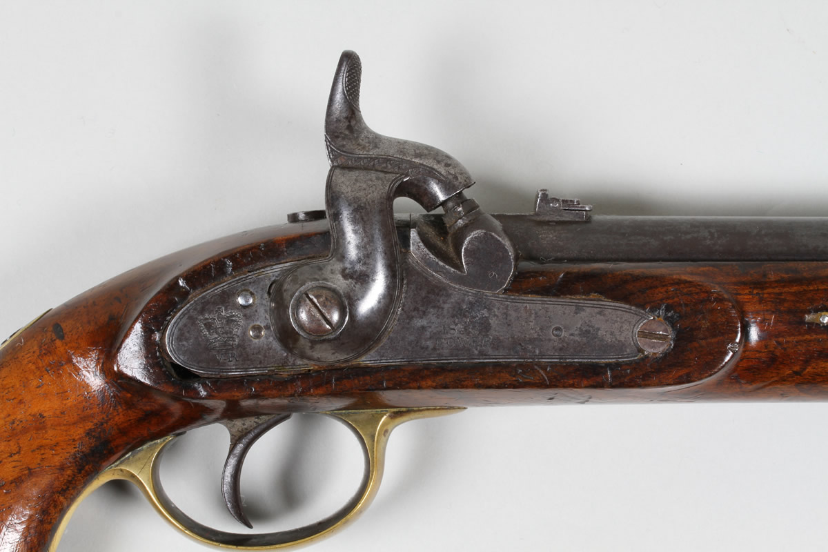 Towers lancers percussion pistol, closeup. Sold £1500.jpg