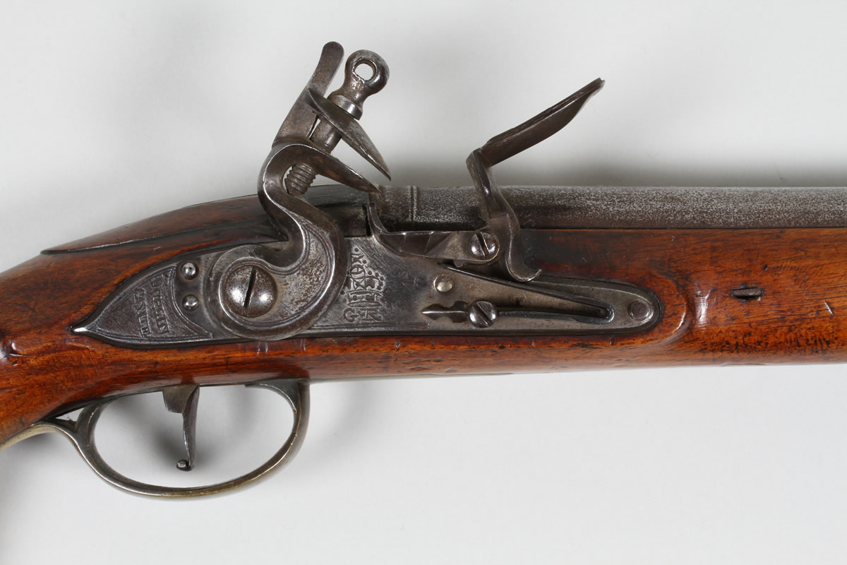 Troopers flintlock pistol, Dublin Castle,closeup.Sold £1500.jpg