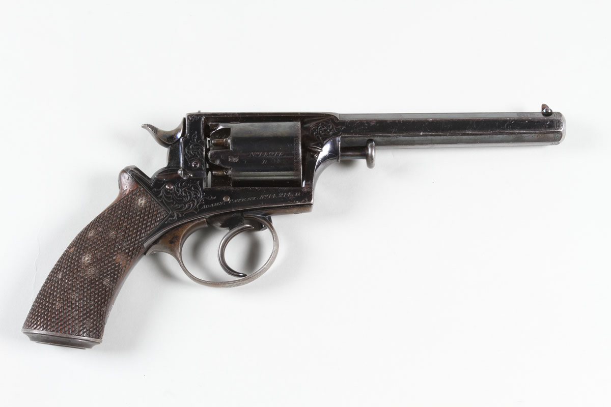 Adam 54 bore revolver, Sold £1400.jpg