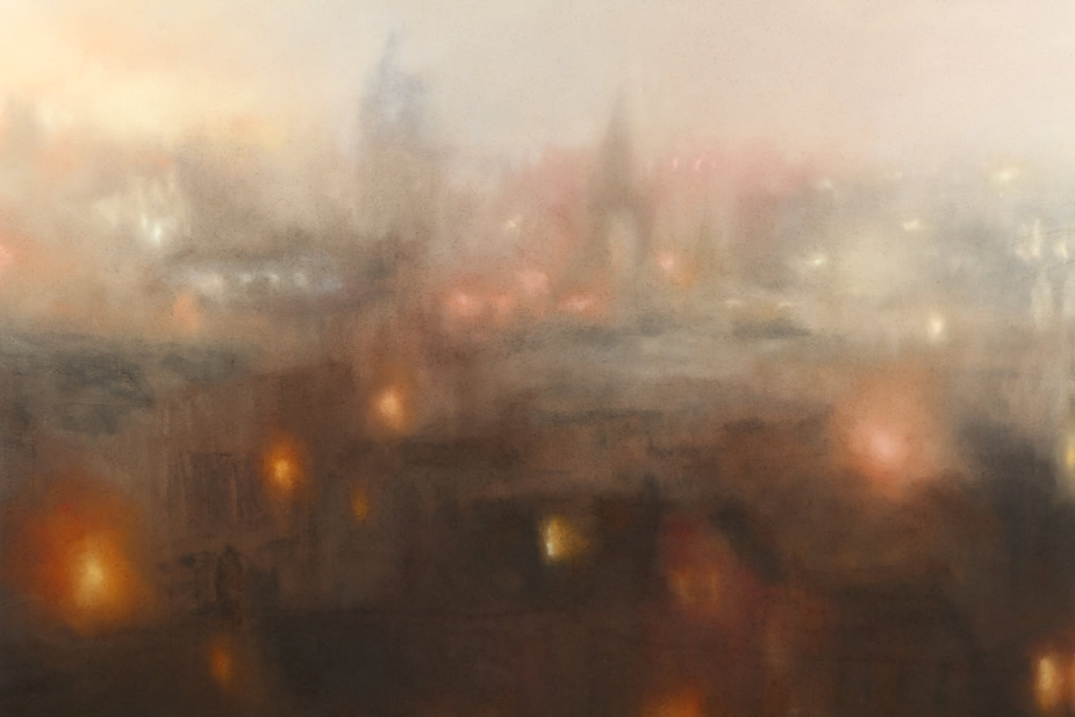 Matthew Draper (born 1923), Framed pastel, Realised £1300.