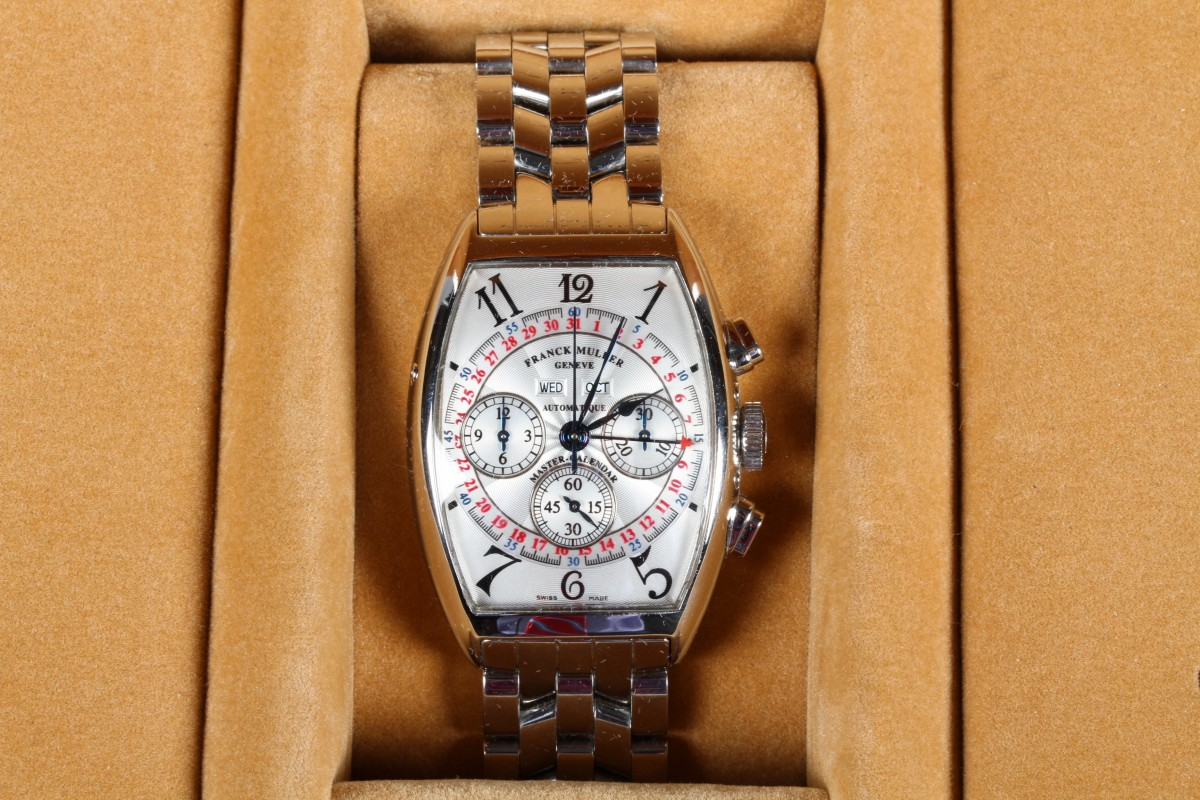 Gents Franck Muller stainless steel wrist watch