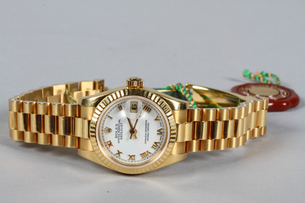 18ct Rolex Oyster Wrist Watch