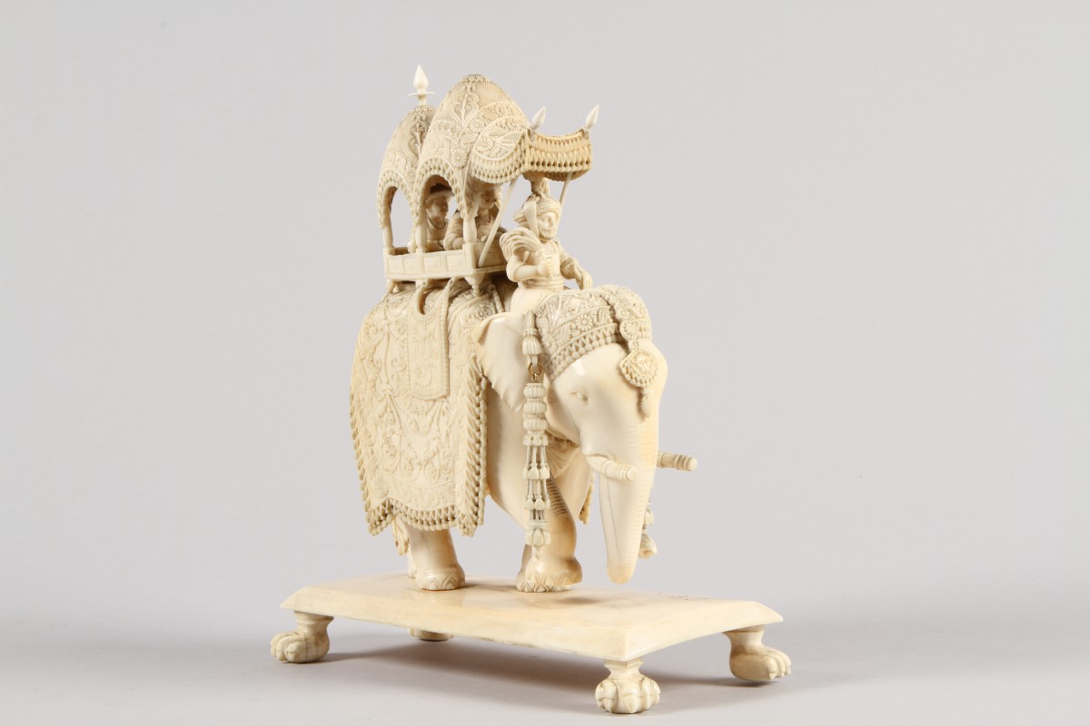 Sale carvings elephant ivory for How to