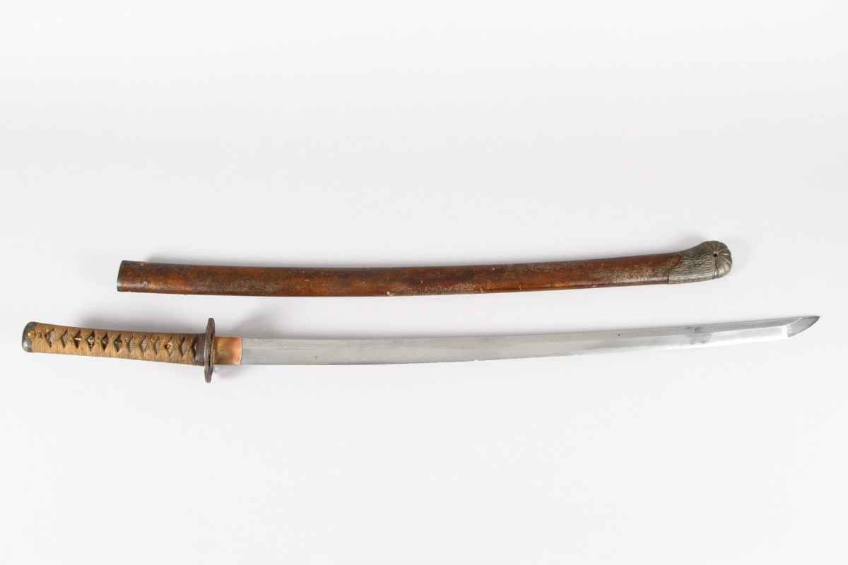 18th Century Japanese Samurai sword sold £1,000