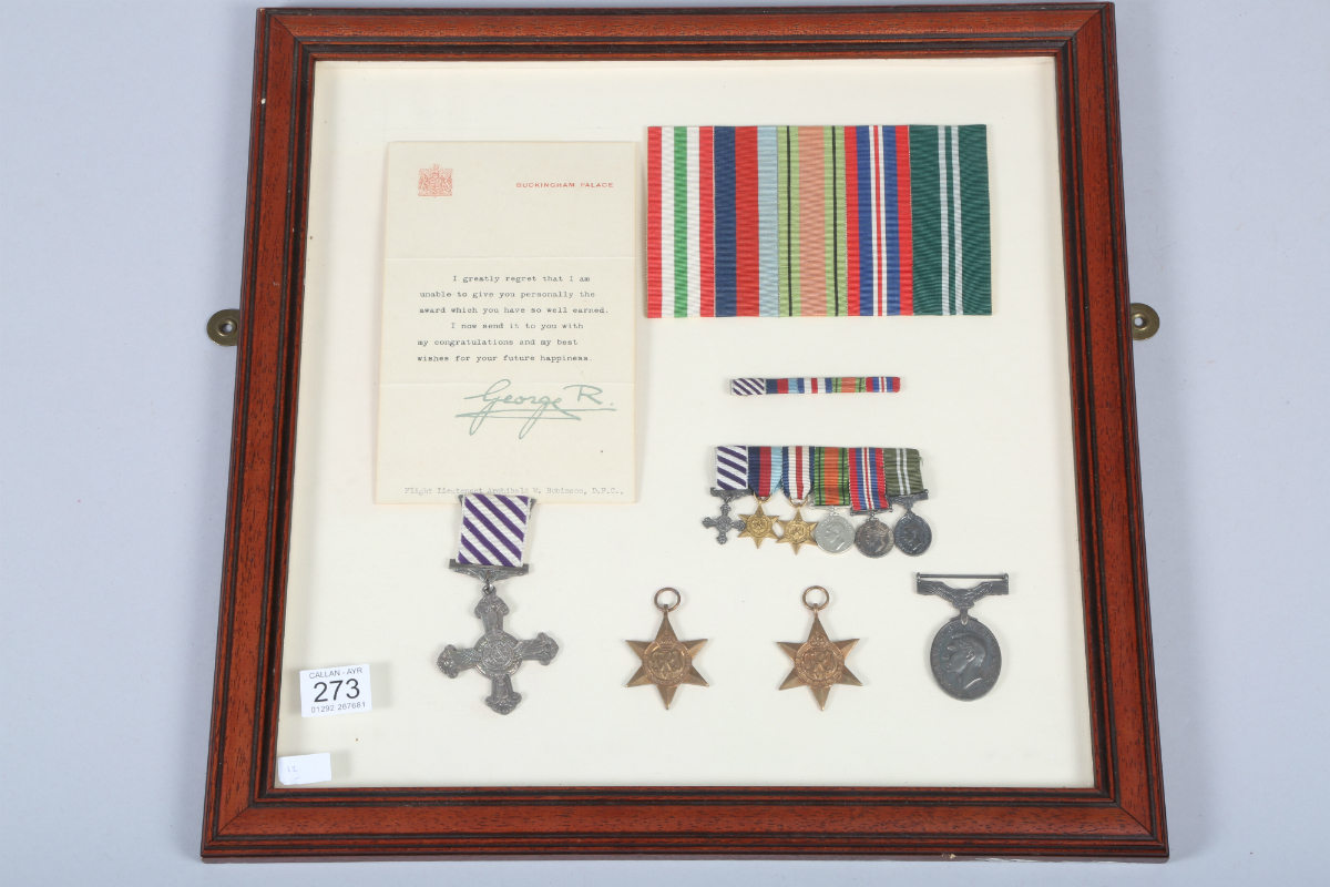 WWII medal group, sold £3000