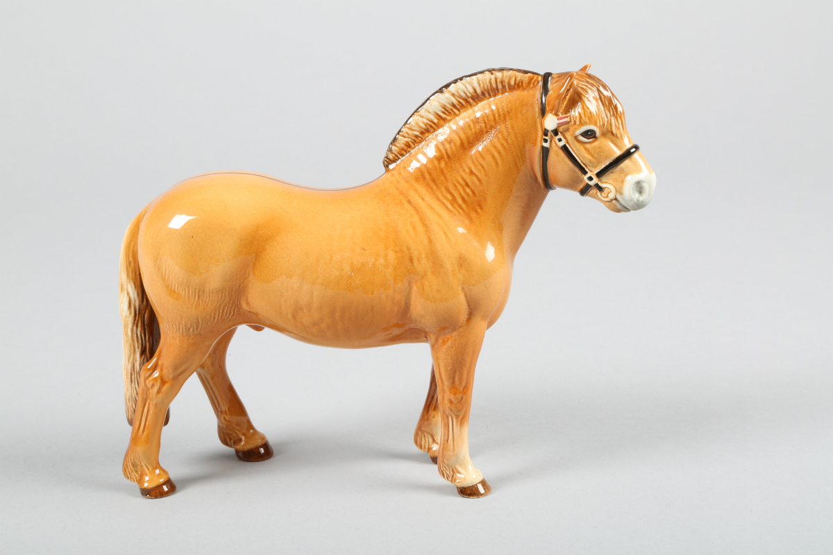 Beswick Norwegian Fjord Horse, sold £170