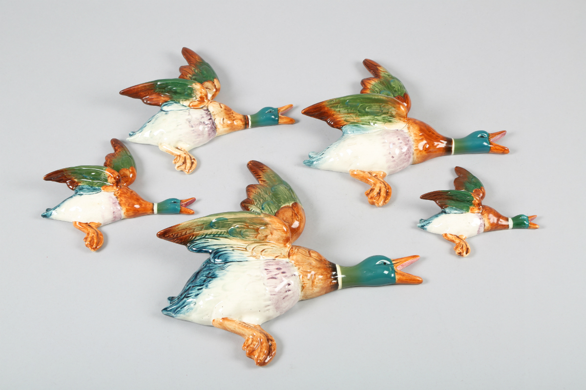 Five Beswick flying duck plaques, sold £280