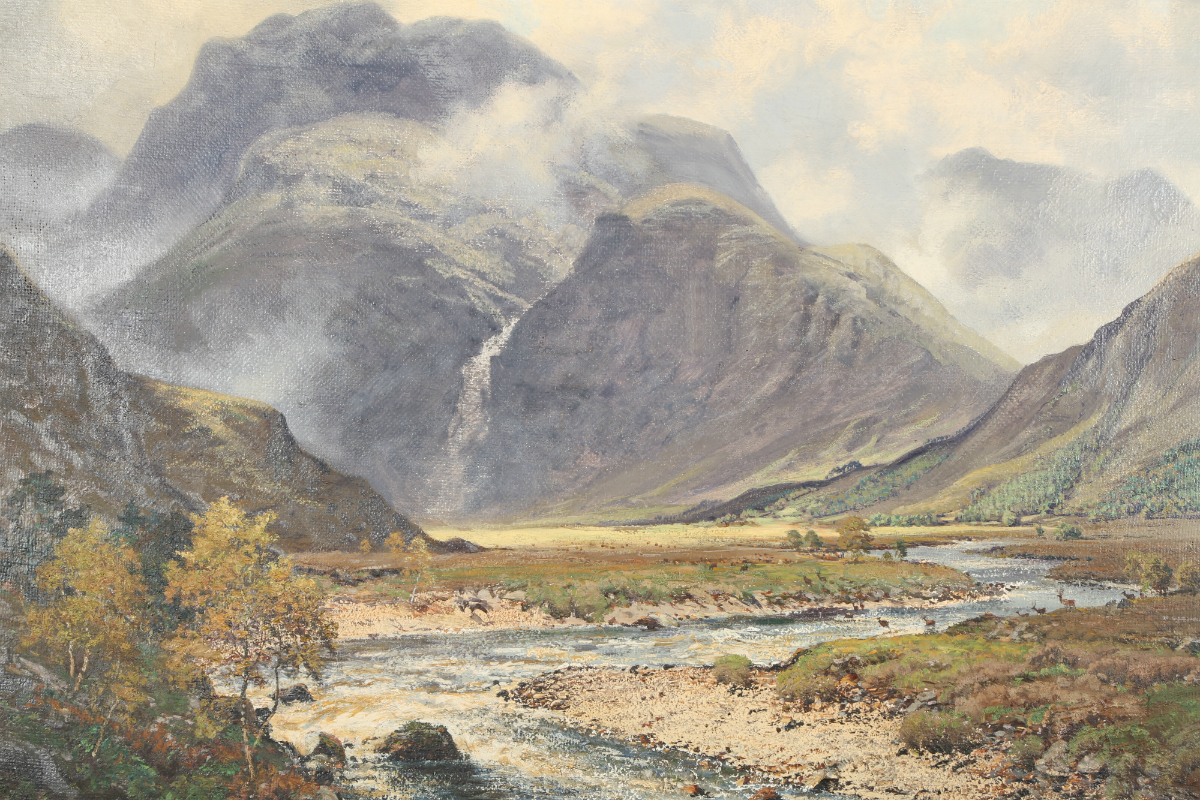 George Melvin Rennie, sold £850