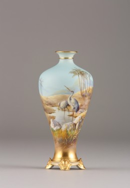 Royal Worcester vase signed William Powell, sold £850