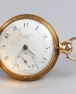 18ct gold Hunter Pocket watch, sold £1700