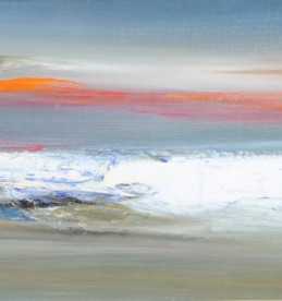 'Sunset Angus Waters' by Nael Hanna, Sold £2200