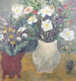 'Scottish Wild Flowers' by Nael Hanna, Sold £2700