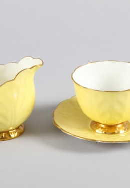 Aynsley bone china teaware, sold £700