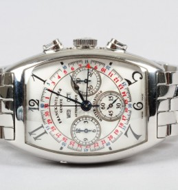 Gents Franck Muller stainless steel wrist watch sold £3,700