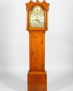 Scottish Oak Longcase Clock, sold for £420