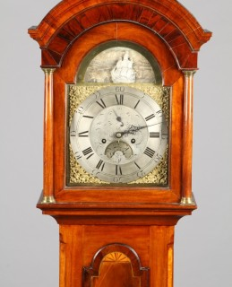 18th Century long cased clock sold for £1,500