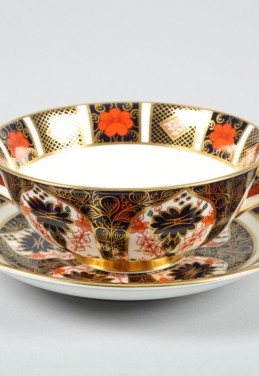 Royal Crown Derby Sixteen piece soup set, sold £300