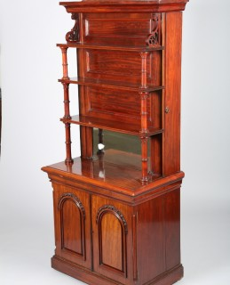 Victorian table leaf cupboard, sold £400