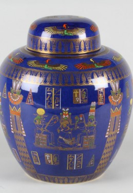 Large Carlton ware ginger jar and cover, Sold £1400.jpg