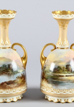 Pair of rare Royal Doulton Vases, Sold £600.jpg