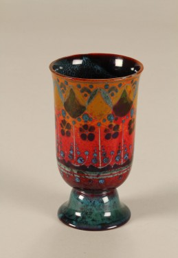 Small Royal Doulton Flambe vase sold £1250