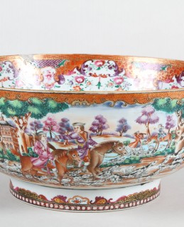 18th Century Chinese Famille Rose punch bowl, Sold £1,500.jpg