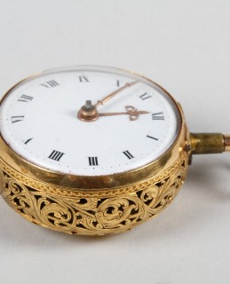 18th Century Gents 18 ct gold Pocket watch. Sold £2800.jpg
