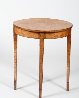 18th Century burr yew wood occasional table, Sold £1,500.jpg