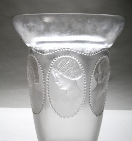 Rene Lalique damaged opalescent glass vase, Sold £3600.jpg