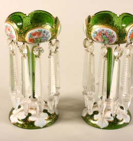 Pair Georgian glass lustres, Sold £1300.jpg